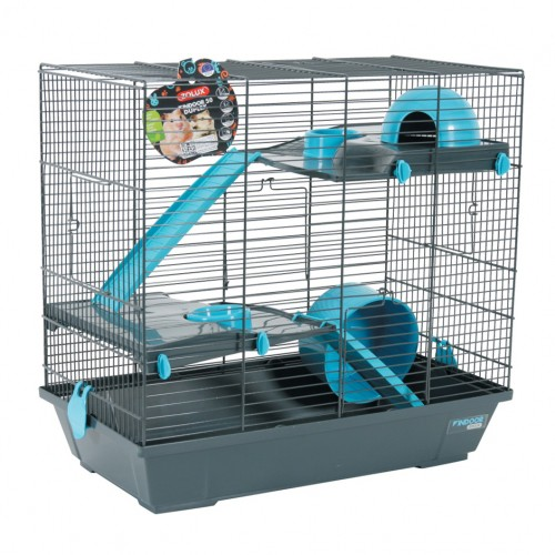 cage indoor 50 duplex cage pour hamster zolux wanimo. Black Bedroom Furniture Sets. Home Design Ideas