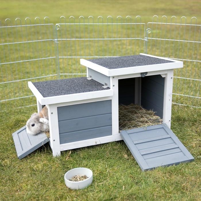 Cage, clapier et enclos rongeur - Natura habitat petits animaux pour rongeurs