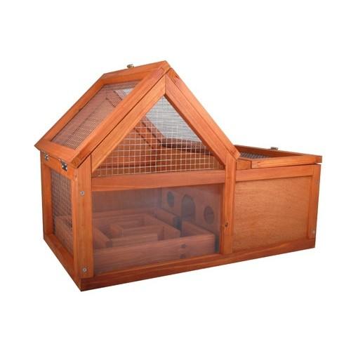 Cage, clapier et enclos rongeur - Cage en bois pour rongeurs