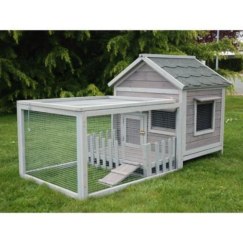 Cage, clapier et enclos rongeur - Clapier Cottage pour rongeurs