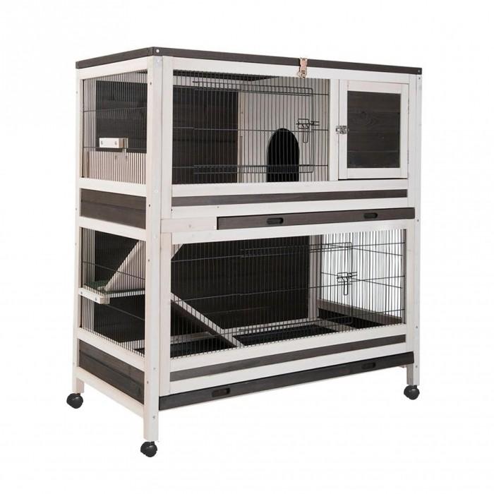 Cage, clapier et enclos rongeur - Clapier Hutchland pour rongeurs