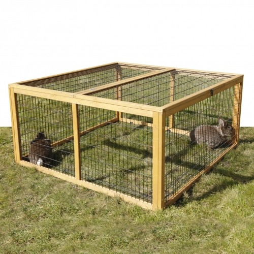Cage, clapier et enclos rongeur - Enclos extérieur anti-fugue pour rongeurs