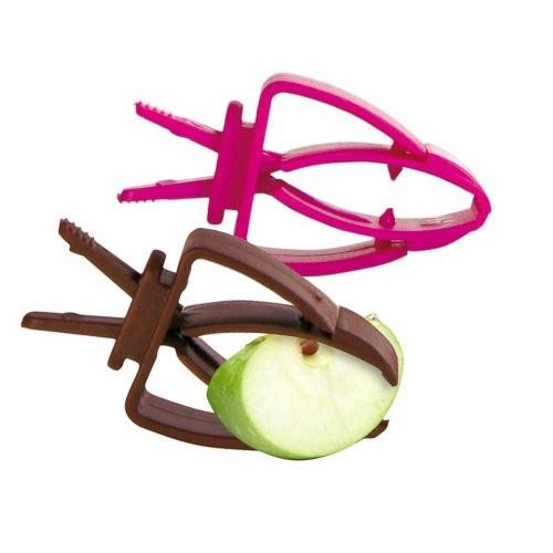Mangeoire et biberon - Pinces supports pour aliment  pour rongeurs