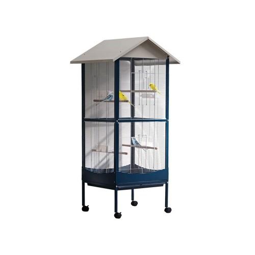 Cage et volière pour oiseau - Volière Gîte pour oiseaux