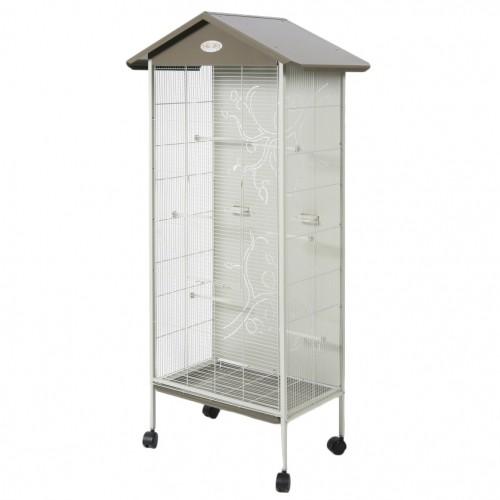 voli re axelle cage et voli re pour oiseau zolux wanimo. Black Bedroom Furniture Sets. Home Design Ideas
