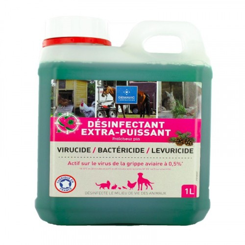Accessoires chien - Désinfectant Extra Puissant pour chiens