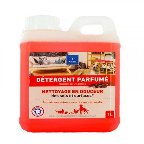 Accessoires chien - Détergent Parfumé 1L pour chiens