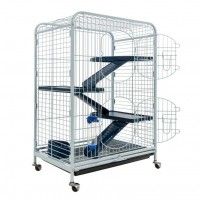 Cage pour furet et rongeur - Cage Tower