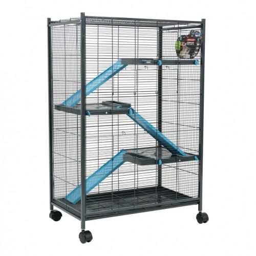 Cage pour furet - Cage Maxi Loft 2 pour furets