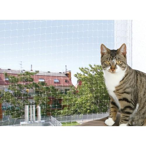 Filet de s curit pour balcon transparent accessoires de for Protection fenetre chat