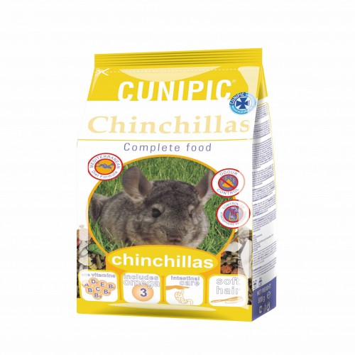 Chinchilla - Complete Food Chinchilla pour rongeurs