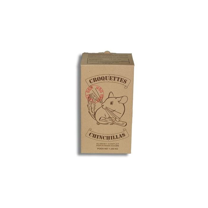 Aliment pour rongeur - Aliment complet  Chinchillas du Terroin pour rongeurs