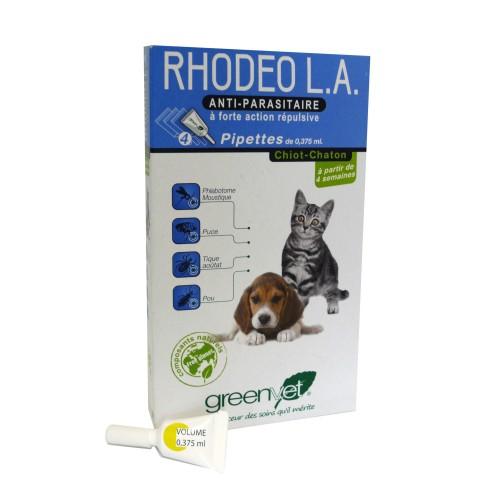 Tiques, puces & vers - Rhodeo L.A. chiot et chaton pour chiens