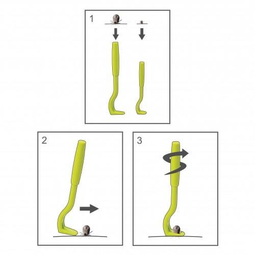 Tiques, puces & vers - Crochet anti-tiques pour furets