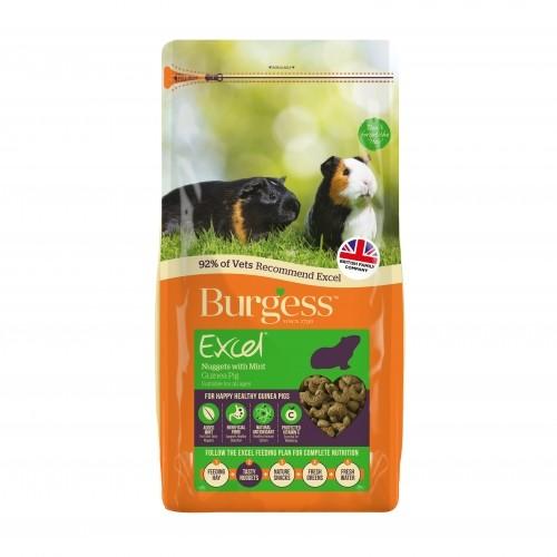 Cobaye / Cochon d'inde - Granulés Excel à la menthe pour rongeurs