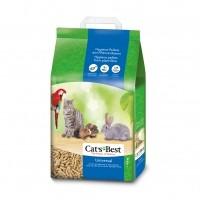 Litière végétale pour chats et petits animaux - Litière Cat's Best Universal