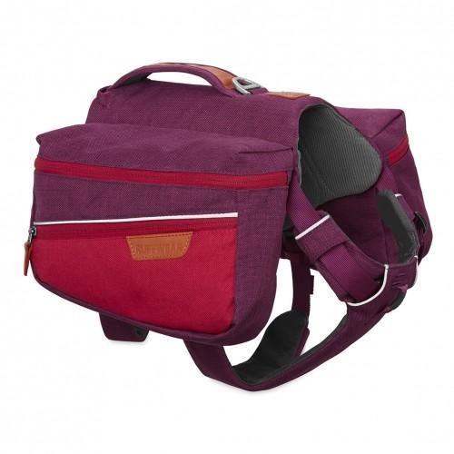 Collier, laisse et harnais - Sac de bât Commuter - Violet pour chiens
