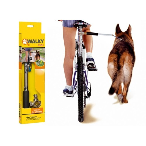 Collier, laisse et harnais - Attache pour vélo pour chiens