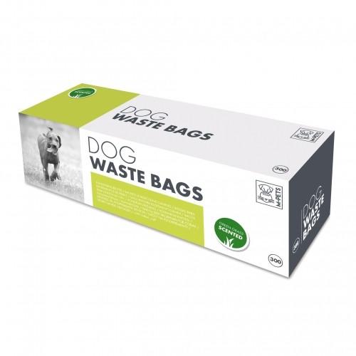 Collier, laisse et harnais - Boîte de 300 sacs ramasse-crottes parfumés pour chiens