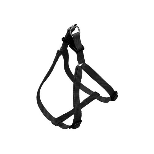 Harnais easy noir harnais pour chien et chats ferplast wanimo - Fabriquer un harnais pour chien ...
