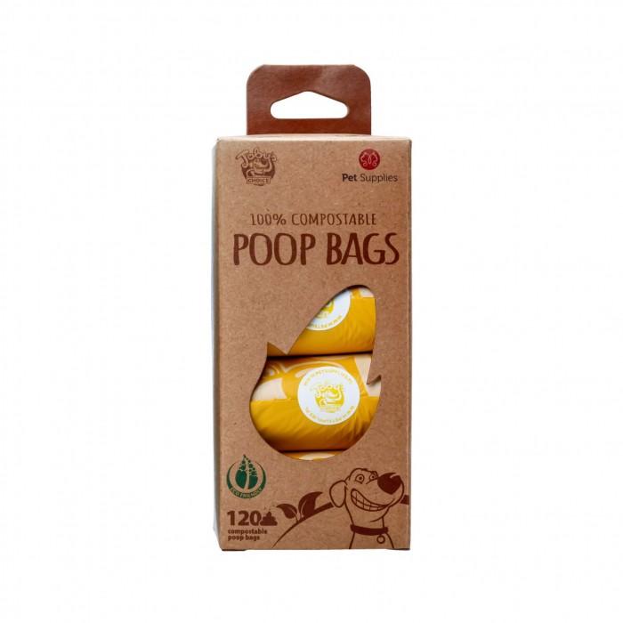Accessoires chien - Sacs ramasse-crottes compostables Poop Bags  pour chiens