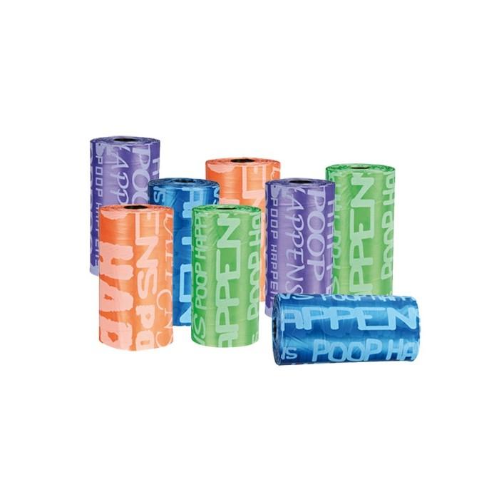 Accessoires chien - Recharges colorées pour ramasse-crottes pour chiens