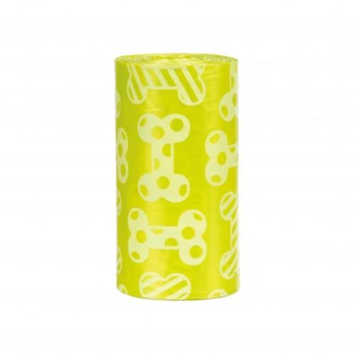 Accessoires chien - Sacs ramasse-crottes parfum citron pour chiens