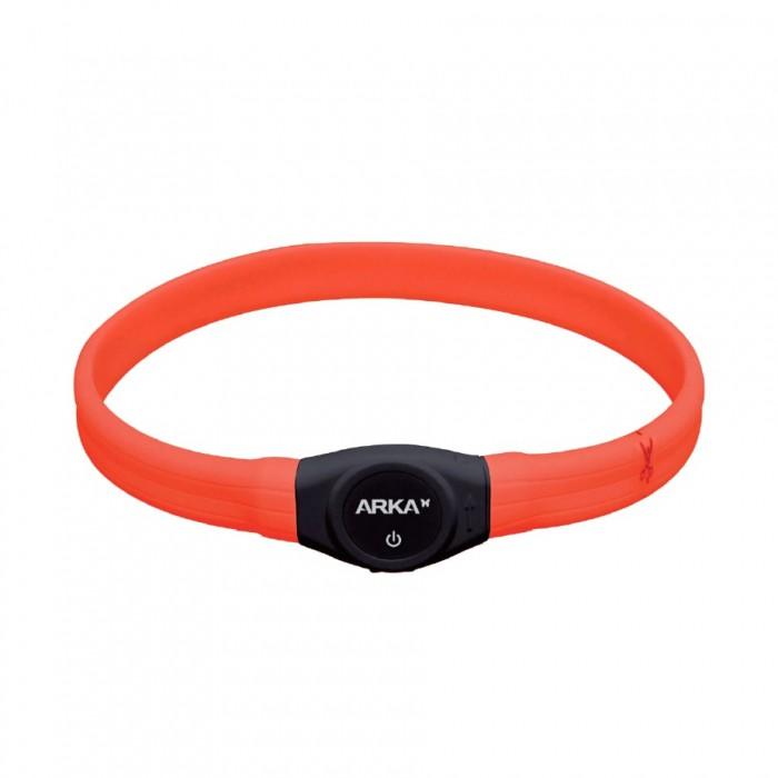 Collier, laisse et harnais - Collier lumineux USB ajustable pour chiens