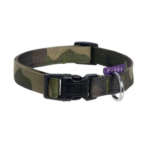 Collier, laisse et harnais - Collier camouflage pour chiens