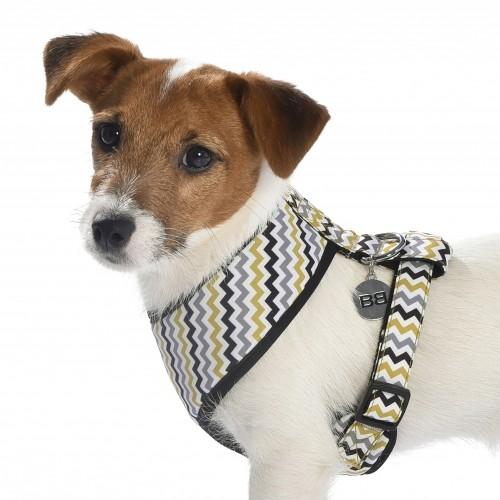 Collier, laisse et harnais - Harnais T-shirt Zigzag pour chiens