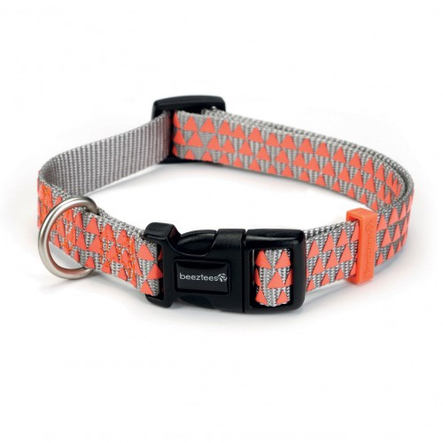 Collier, laisse et harnais - Collier nylon Triangle pour chiens