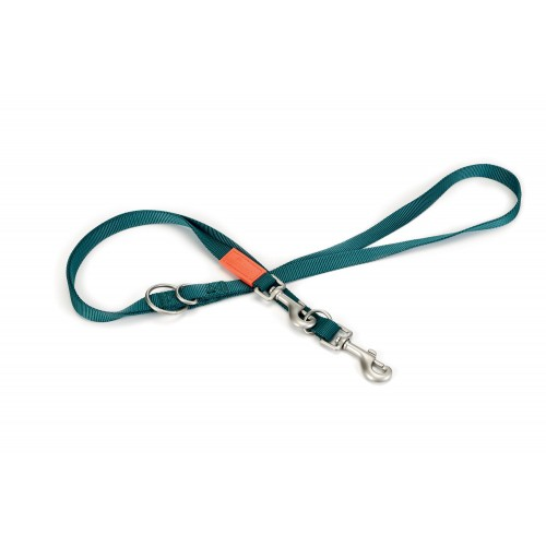 Collier, laisse et harnais - Laisse nylon 3 points pour chiens