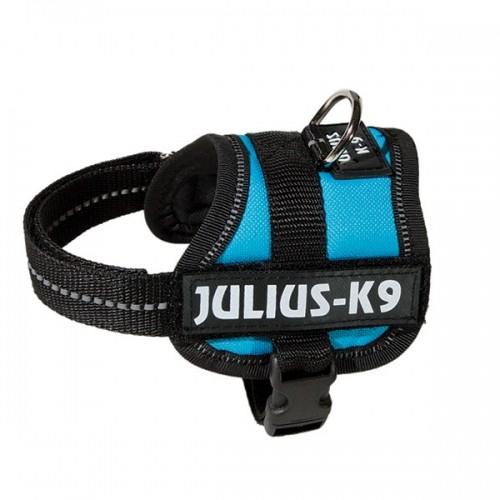 Collier, laisse et harnais - Harnais Power Bleu aquamarine pour chiens