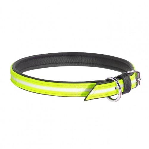 Collier, laisse et harnais - Collier IDC Lumino - Jaune fluo pour chiens