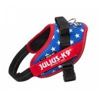 Harnais pour chien - Harnais IDC Power Drapeau américain Julius K9