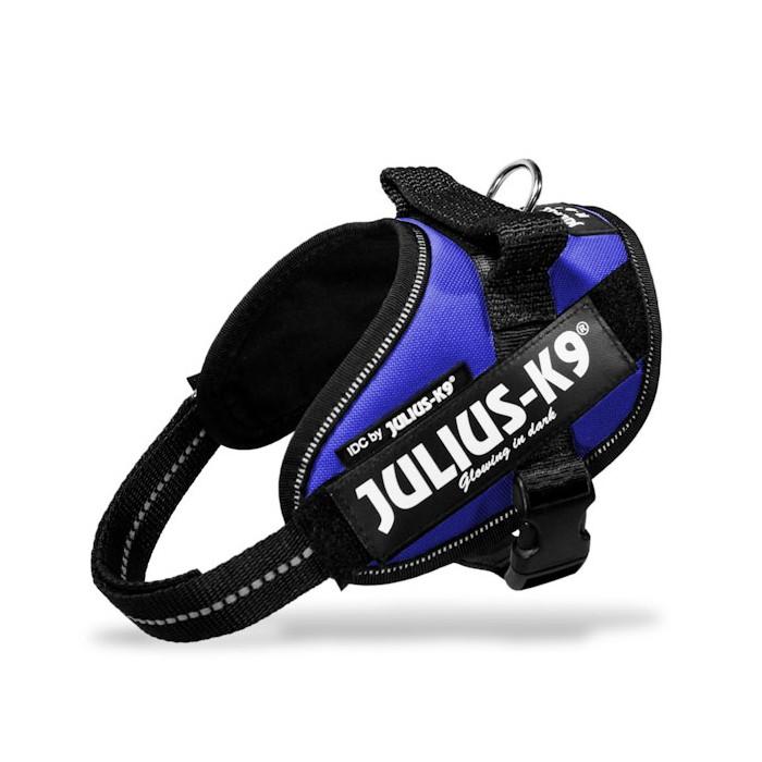 Collier, laisse et harnais - Harnais IDC Power Bleu pour chiens