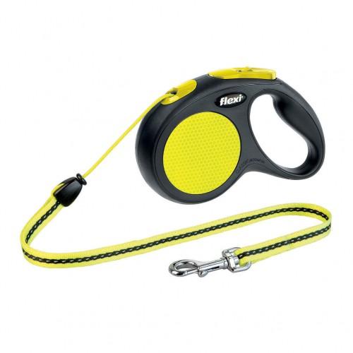 Collier, laisse et harnais - Laisse rétractable cordon New Classic Neon pour chiens