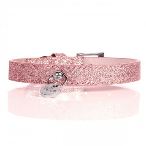 Collier, laisse et harnais - Collier Stardust Pink pour chiens