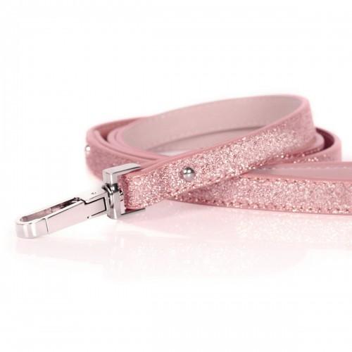 Collier, laisse et harnais - Laisse Stardust Pink pour chiens
