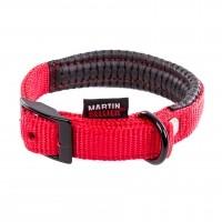 Collier pour chien - Collier Confort - Rouge Martin Sellier