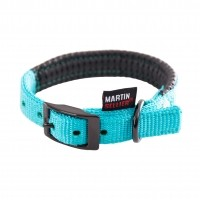 Collier pour chien - Collier Confort - Turquoise Martin Sellier