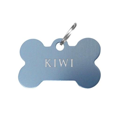 Collier, laisse et harnais - Médailles personnalisées Os pour chiens