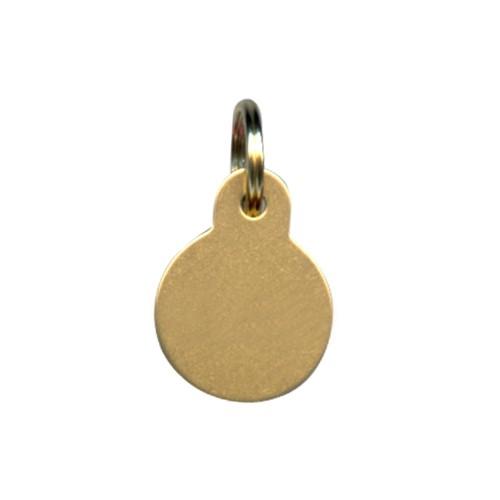 Collier, laisse et harnais - Médailles personnalisées Rondes pour chats