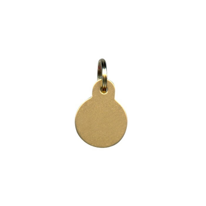 Collier, laisse et harnais - Médailles personnalisées Rondes pour chiens