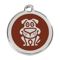 Médaille à personnaliser - Médaille personnalisable motif Chien Red Dingo