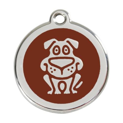 Collier, laisse et harnais - Médaille personnalisable motif Chien pour chiens
