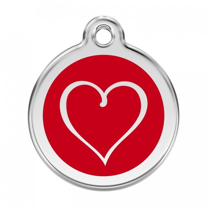 Médaille personnalisable motif Coeur