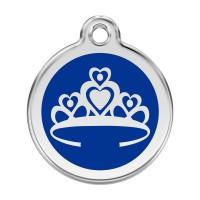 Médaille à personnaliser - Médaille personnalisable motif Couronne Red Dingo