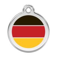 Médaille à personnaliser - Médaille personnalisable Allemagne Red Dingo