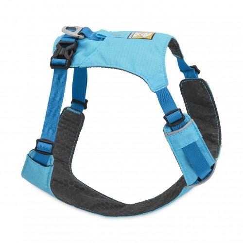 Collier, laisse et harnais - Harnais Hi & Light Bleu pour chiens